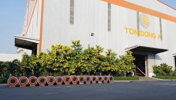 Nhà máy tôn Đông Á tại tphcm