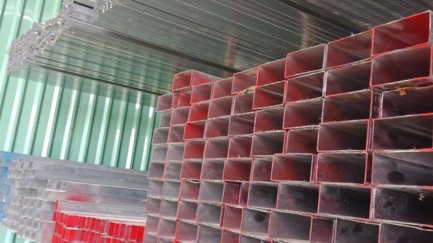 giá sắt hộp mạ kẽm 60x120