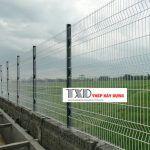 giá thi công hàng rào lưới b40
