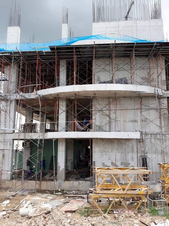 Đơn hàng giao sớm của Thái Hòa Phát. Công trình Tạ Quang Bửu - Quận
